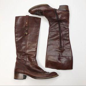 AGL Attilio Giusti Leombruni Tall Brown Boots